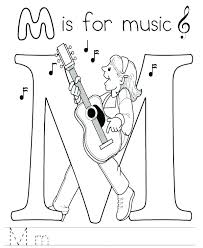 Amazing Free Music Coloring Pages Printable And Free Music Coloring