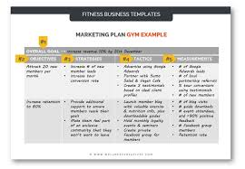 Gym Marketing Plan Pdf Template How To Guide With Examples
