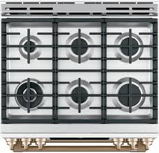 double oven gas range with convection