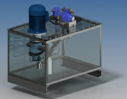Hi-Low Hydraulic system (submerged pump) | 3D CAD Model Library | GrabCAD