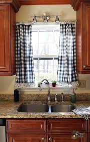 innovative curtain for kitchen window designs with 25 best gingham curtains ideas on home decor family room