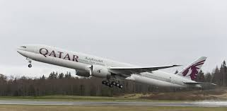A recent firm order from Qatar Airways for ten Boeing 777-300ERs proved  insufficient to avoid the company's latest production cut. (Photo: Boeing)