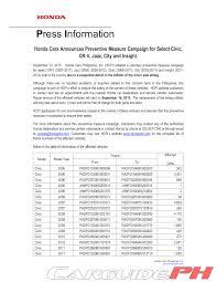 Honda Civic Philippines Price List 2011