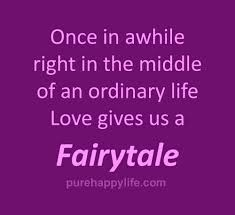 Fairytale Love Quotes