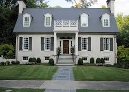 how to paint brick house with cream color theme ideas