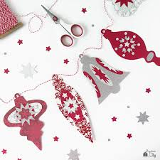 christmas ornament banner. Brilliant Christmas DIY Holiday Ornament Banner With Free Template Inside Christmas N