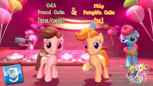 Filly Pumpkin And Colt Pound Cake