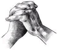 Het Zoutvat Biddende Handen
