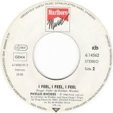 45cat - Phyllis Rhodes - End Of Forever / I Feel, I Feel, I Feel - Marlboro  Music - Germany - 6.14562
