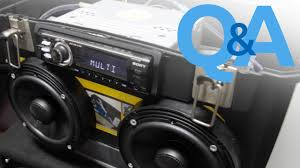 car audio home theater how to use car stereo system anywhere car audio q a you