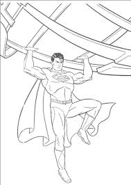 Superman Coloring Pages Free To Print Duilawyerlosangeles