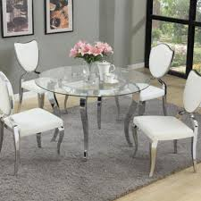 dining room round dining room table sets inspirational refined round glass top dining room furniture