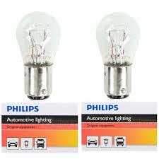 Mini Light Bulbs Two Philips Standard Mini Light Bulb 1158cp For 1158 S 8 6 4v 17 5w Ba15d