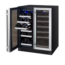 allavino vswrssfn flexcount series wine refrigerator bottle