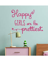 wall decor plus more wdpm4192 happy prettiest wall art vinyl decals girls room decor quotes  on wall art decoration vinyl decal sticker with incredible summer sales on wall decor plus more wdpm4192 happy