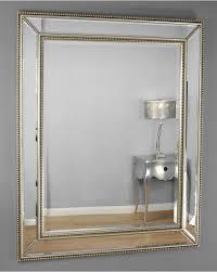 villafranca silver edge venetian glass wall mirror