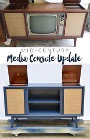 vintage media console.  Media Vintage Media Console Update   In E