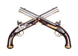 cross pistols wall mount kit