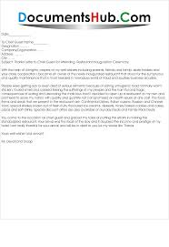 thanks letter for chief guest com thanks letter for chief guest sample