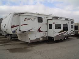 pre owned 2010 keystone raptor 361lev mount fort rv