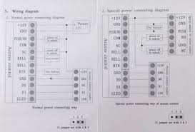 rfid access control system card access control code access control wiring diagram