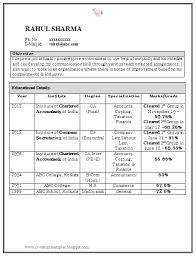 Sample Accountant Resume Resume Template Pinterest Sample