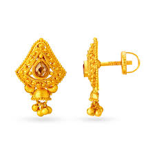 Latest Earring Design With Price Buy Gold Diamond Earrings Online Latest Gold Earrings