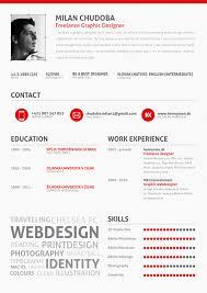 graphic design resume skills Examples of Creative Graphic Design milan  chudoba