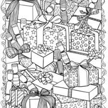 Adult Holiday Coloring Pages At Getdrawingscom Free For Personal