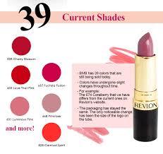 Revlon Super Lustrous Lipstick Colour Chart Buymebeauty Exclusives Revlon Super Lustrous Lipstick