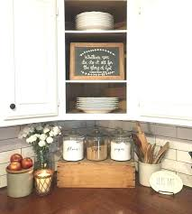 kitchen countertop decorating ideas pictures best kitchen decor ideas counter decoration farmhouse with butcher block and subway tile decorations kitchen
