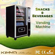 Vending Machine Card Payment Simple China Cigarette And Can Food Vending Machine To Support Card Payment