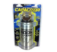 scosche 500k micro farad capacitor by scosche amazon com scosche 500k micro farad capacitor by scosche