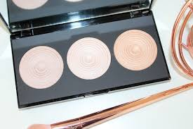 revolution radiance lights palette review and photos hourglass ambient lighting dupe