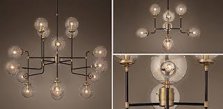 restoration hardware chandelier. Restoration Hardware Modern Lighting Plantoburo In Ceiling Lights Intended For Wish Chandelier