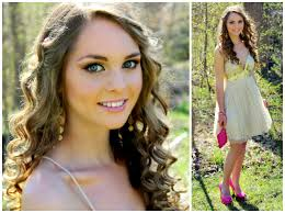 get ready with me prom 2016 makeup hair tutorial with gold dress pink heels jackie wyers you
