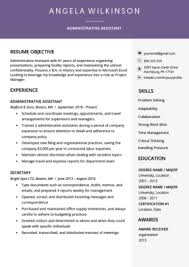 Free Resume Sample Free Resume Templates Download For Word Resume Genius