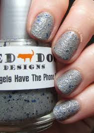 Angel Love Nail Designs Red Dog Designs The Angels Have The Phone Box Swatches