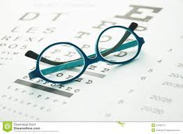 Parent Eye Chart Glasses On Eye Chart Stock Photo Image Of Diagnostic 34489772