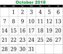 pdf printable calendar free printable calendar october 2018 pdf printable office