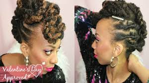 Mo Hock Hair Style easy loc mohawk tutorial loc extension style for short locs 5 8647 by stevesalt.us