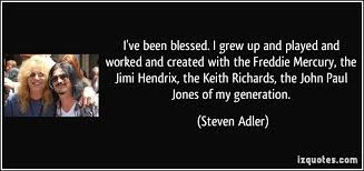 John Paul Jones Quotes Fascinating I've Been Blessed I Grew Up And Played And Worked And Created With