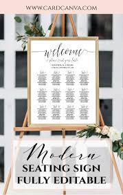Calligraphy Wedding Seating Chart Diy Wedding Seating Chart Template Calligraphy Script