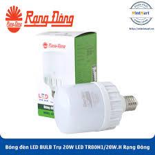 Bóng đèn LED BULB Trụ 20W LED TR80N1/20W.H Rạng Đông - Hàng Chính Hãng -  mintmart.vn