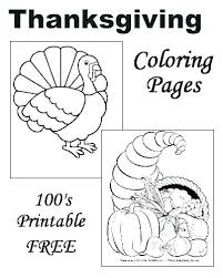 Free Coloring Pages For Thanksgiving Day Psubarstoolcom