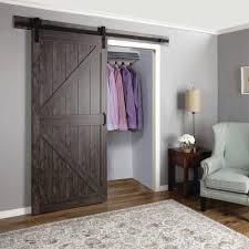 Erias Home Designs Barn Door Paneled Manufactured Wood Finish Continental Barn Door With Installation Hardware Kit