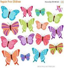 spring butterfly clipart. Simple Spring Beautiful Butterflies Cute Digital Clipart Butterfly Clip Art Pretty  Graphics Spring Purple Butterfly Blue Pink To Spring Clipart R
