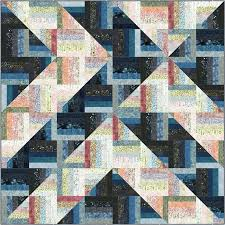 Quilting Designs For A Rail Fence Quilt A Quilters Dream Rockin Rail Fence Quilt Fabric Kit
