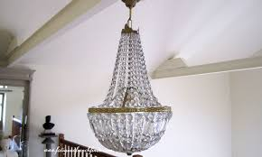 small antique crystal chandeliers for kitchens