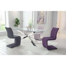 purple dining chairs. hyper purple polyblend dining chair (set of 2) chairs